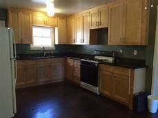 paint color suggestions maple cabinets with dark counter