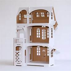 Cardboard Dollhouse Decorate Your Own Dollhouse For