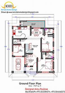 kerala model house plan and elevation home plan and elevation 1800 sq ft kerala home design and