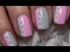 nails muster s 252 223 es schlichtes nageldesign f 252 r kurze n 228 gel lackieren