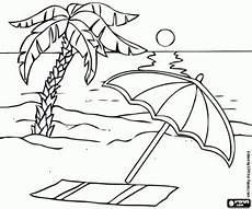 Malvorlagen Meer Und Strand Ausmalbilder Das Meer Und Den Strand Im Sommer Zum Ausdrucken