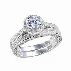 2 4 ct round cut aaa cz solid 925 sterling silver wedding