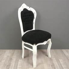 chaise baroque noir chaise baroque et blanche fauteuils baroques