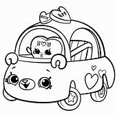 Cutie Cars Coloring Page For Girls  Get Pages