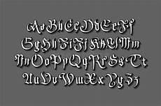 lettere gotiche minuscole fonte gotica moderna di stile vettore gotico delle lettere