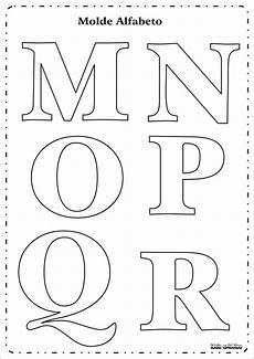 molde letras do alfabeto ideia criativa educa 231 227 o infantil gi carvalho