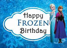 Malvorlagen Frozen Happy Birthday Celebrating With Disney S Frozen Free Printable