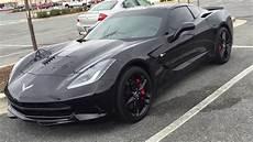 2015 blacked out corvette c7 stingray at the burtonsville