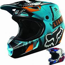dirt bike helm fox racing v1 vicious youth dirt bike road motocross