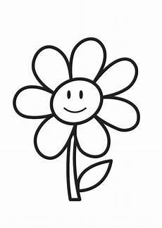 Malvorlagen Kinder Blume Malvorlage Blume Kostenlose Ausmalbilder Zum Ausdrucken