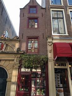 house in the tea at the smallest house in amsterdam travel foodie