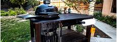 Diy How To Build A Kamado Grill Table Building Strong