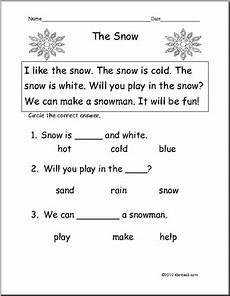 13 best images of snow worksheets for kindergarten