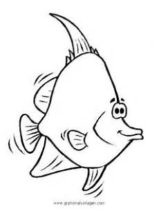 verschiedene fische 59 gratis malvorlage in fische tiere
