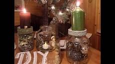 basteln mit einmachgläsern diy 3 kerzenst 228 nder deko gl 196 ser adventskranz weihnachts