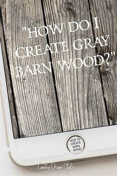 Holz Sofort Altern Lassen Verwende Neues Holz Und