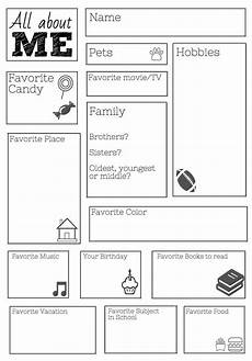 free printable worksheets for middle school 18667 freebie all about me worksheet day of school activities 1st day of school beginning