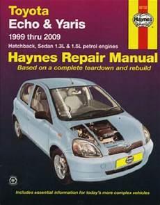vehicle repair manual 2003 toyota echo engine control toyota echo yaris 1999 2009 haynes service repair manual sagin workshop car manuals repair