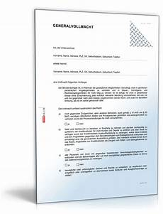 Generalvollmacht Ohne Notar Muster - beliebte downloads vorlagen kostenlos 187 dokumente