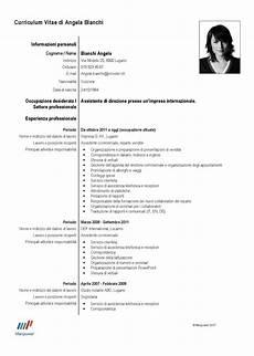 Impostazione Curriculum Vitae Laboite Cv Fr