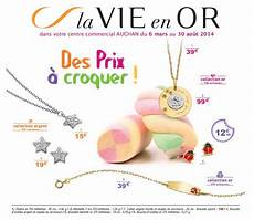 Catalogue Auchan Bijoux Collection Argent Au 30 Aout 2014