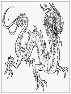 Ausmalbilder Chinesische Drachen New Year Coloring Pages