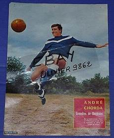magasin photo bordeaux football magazine 1962 photo 26 x 34 cm girondins bordeaux