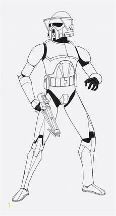captain rex clone trooper coloring pages