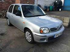 nissan micra silver 2002 car for sale