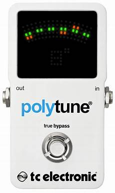 tc polytune 2 tc electronic polytune 2 polyphonic tuner pedal zzounds