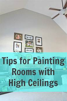 how to paint a room with high ceilings a turtle s life