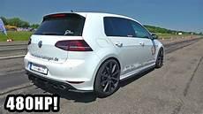480hp Volkswagen Golf 7 R Hgp Turbo Exhaust Sounds Top