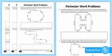 y4 perimeter word problems activity sheet lks2 calculate