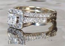 helzberg diamonds h 18k white gold band 1 2 ct princess