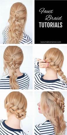 Easy Steps For Braiding Hair