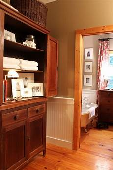 using photographs in the bathroom talk of the house painting trim pine trim natural