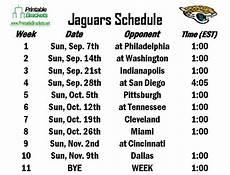 jaguars schedule jacksonville jaguars schedule