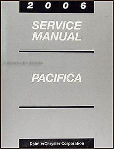 service and repair manuals 2006 chrysler pacifica seat position control 2006 chrysler pacifica repair shop manual original