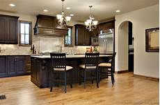 dark wood kitchen ideas of kitchens traditional dark wood walnut color kitchen 64