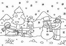 Winter Malvorlagen Ausmalbilder Winter Zum Ausdrucken Malvorlagentv