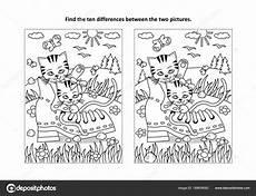 Kinder Malvorlagen Unterschiede Finden Sie Die Zehn Unterschiede Bilderrtsel Und