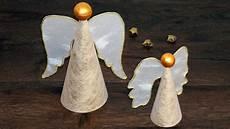 basteln weihnachten erwachsene engel aus papier basteln zu weihnachten paper