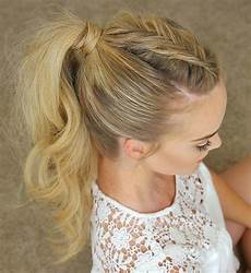 35 super simple ponytail hairstyles tail hairstyle