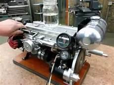 custom miniature inline 8 cylinder engine no