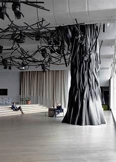 arbre d interieur design so right now trees in interior design yellowtrace