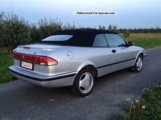 1999 saab 900 2 0 turbo convertible leather air aluminum car photo and specs