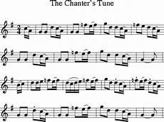 the chanter s tune irish folk song ireland sheet music for treble clef irish folk songs
