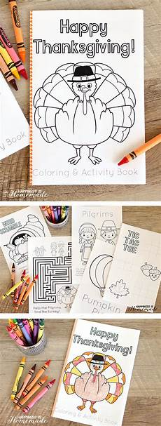 thanksgiving coloring activity book happiness is homemade