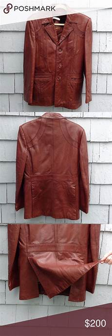 raffaels vintage vintage raffael leather coat golden collection beautiful