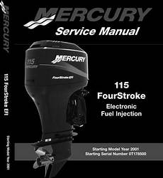 service repair manual free download 2010 mercury mariner lane departure warning mercury mariner 115hp efi 4 stroke service manual tradebit